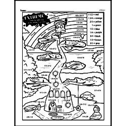 Fourth Grade Math Challenges Worksheets - Puzzles and Brain Teasers Worksheet #43