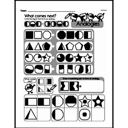Fourth Grade Math Challenges Worksheets - Puzzles and Brain Teasers Worksheet #47