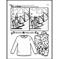 Fourth Grade Math Challenges Worksheets - Puzzles and Brain Teasers Worksheet #107