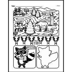 Fourth Grade Math Challenges Worksheets - Puzzles and Brain Teasers Worksheet #111