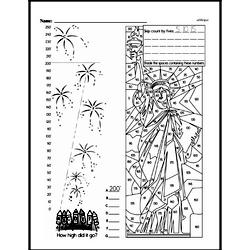 Fourth Grade Math Challenges Worksheets - Puzzles and Brain Teasers Worksheet #119