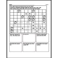Fourth Grade Math Challenges Worksheets - Puzzles and Brain Teasers Worksheet #16