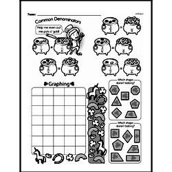 Fourth Grade Math Challenges Worksheets - Puzzles and Brain Teasers Worksheet #39