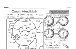 Fourth Grade Math Challenges Worksheets - Puzzles and Brain Teasers Worksheet #143