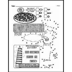Fourth Grade Math Challenges Worksheets - Puzzles and Brain Teasers Worksheet #153