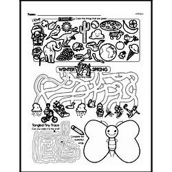 Fourth Grade Math Challenges Worksheets - Puzzles and Brain Teasers Worksheet #115
