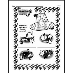 Fourth Grade Math Challenges Worksheets - Puzzles and Brain Teasers Worksheet #125
