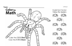 Fourth Grade Math Challenges Worksheets - Puzzles and Brain Teasers Worksheet #88