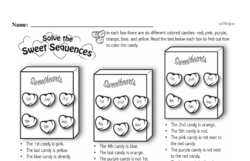 Fourth Grade Math Challenges Worksheets - Puzzles and Brain Teasers Worksheet #136