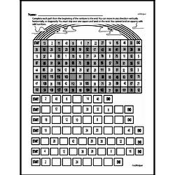 Fourth Grade Math Challenges Worksheets - Puzzles and Brain Teasers Worksheet #84