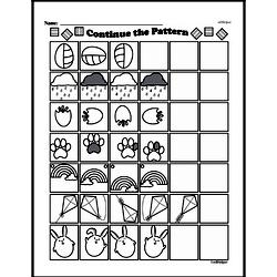 Fourth Grade Math Challenges Worksheets - Puzzles and Brain Teasers Worksheet #93