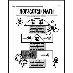Fourth Grade Math Word Problems Worksheets - Mixed Operations Math Word Problems Worksheet #6