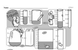 Fourth Grade Measurement Worksheets - Measurement and Capacity Worksheet #4