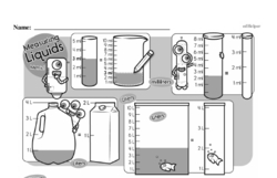 Fourth Grade Measurement Worksheets - Systems of Measurement Worksheet #1