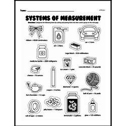 Measurement Worksheets - Free Printable Math PDFs Worksheet #10