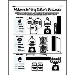 Measurement Worksheets - Free Printable Math PDFs Worksheet #3