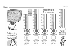 Free Measurement PDF Math Worksheets Worksheet #39