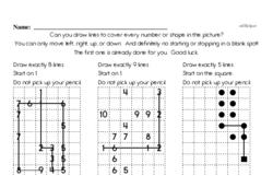 Free Measurement PDF Math Worksheets Worksheet #61