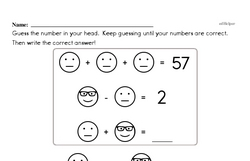 Logic Puzzle with Mental Math