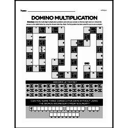 Fourth Grade Multiplication Worksheets - Multi-Digit Multiplication Worksheet #9