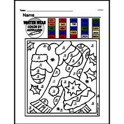 Fourth Grade Multiplication Worksheets - Multi-Digit Multiplication Worksheet #6