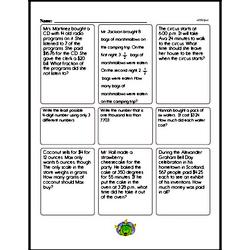 Fourth Grade Multiplication Worksheets - Multiplying Decimal Numbers Worksheet #1