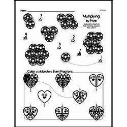 Fourth Grade Multiplication Worksheets - One-Digit Multiplication Worksheet #15