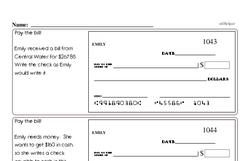 Fourth Grade Multiplication Worksheets - One-Digit Multiplication Worksheet #4