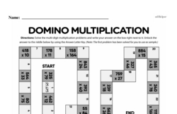 Multiplication Worksheets - Free Printable Math PDFs Worksheet #140