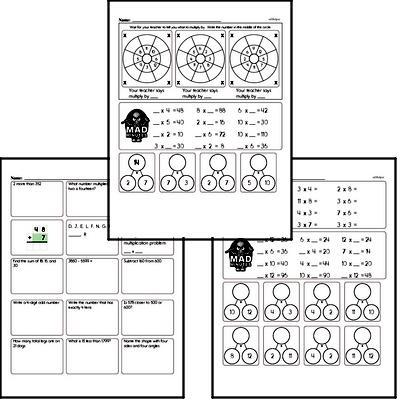 Fourth Grade Multiplication Worksheets | edHelper.com