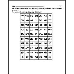 Multiplication Worksheets - Free Printable Math PDFs Worksheet #58