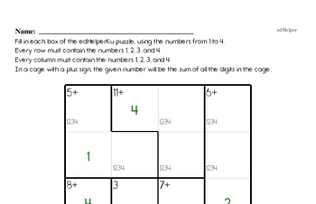 Number Sense - Analyze Arithmetic Patterns Mixed Math PDF Workbook for Fourth Graders