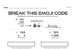 Fourth Grade Number Sense Worksheets - Multi-Digit Numbers Worksheet #11