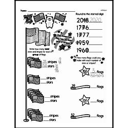 Fourth Grade Number Sense Worksheets - Multi-Digit Numbers Worksheet #2
