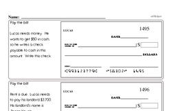 Order of Operations Worksheets - Free Printable Math PDFs Worksheet #5