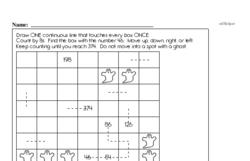 Fourth Grade Number Sense Worksheets - Solving Basic Algebraic Equations Worksheet #10