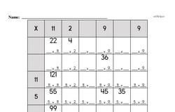 Fourth Grade Number Sense Worksheets - Three-Digit Numbers Worksheet #1