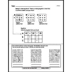 Fourth Grade Number Sense Worksheets - Three-Digit Numbers Worksheet #4
