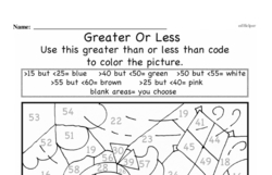 Fourth Grade Number Sense Worksheets - Two-Digit Numbers Worksheet #13