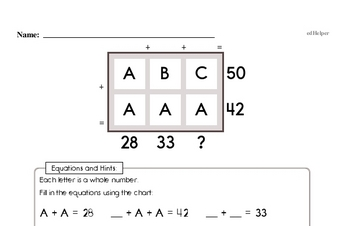 Number Sense - Two-Digit Numbers Mixed Math PDF Workbook for Fourth Graders