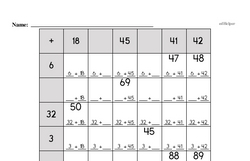 Fourth Grade Number Sense Worksheets - Two-Digit Numbers Worksheet #2