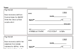 Fourth Grade Number Sense Worksheets - Two-Digit Numbers Worksheet #4