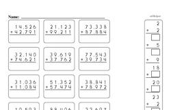 Fourth Grade Number Sense Worksheets - Two-Digit Numbers Worksheet #5