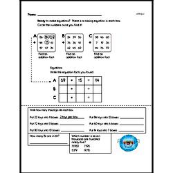 Fourth Grade Number Sense Worksheets - Two-Digit Numbers Worksheet #9