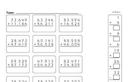 Fourth Grade Number Sense Worksheets Worksheet #15