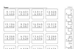 Fourth Grade Number Sense Worksheets Worksheet #16