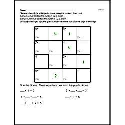 Fourth Grade Number Sense Worksheets Worksheet #69