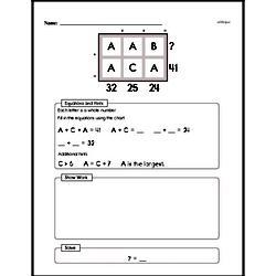 Fourth Grade Number Sense Worksheets Worksheet #18