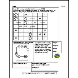 Fourth Grade Number Sense Worksheets Worksheet #64