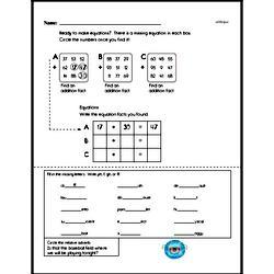 Fourth Grade Number Sense Worksheets Worksheet #19